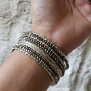 Buckle Jewelry - 🌸Buckle Bracelet Bangle Set
